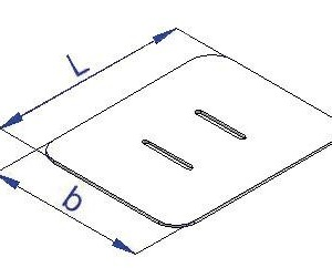 Łata  PVC